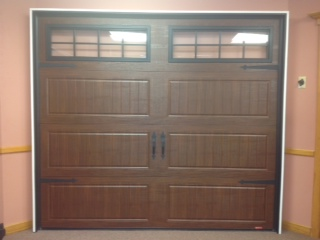 Showroom Garage Doors Moka Brown