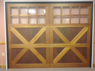 Showroom Wooden Door