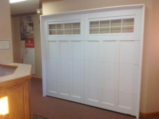 Showroom Garage Door Traditional