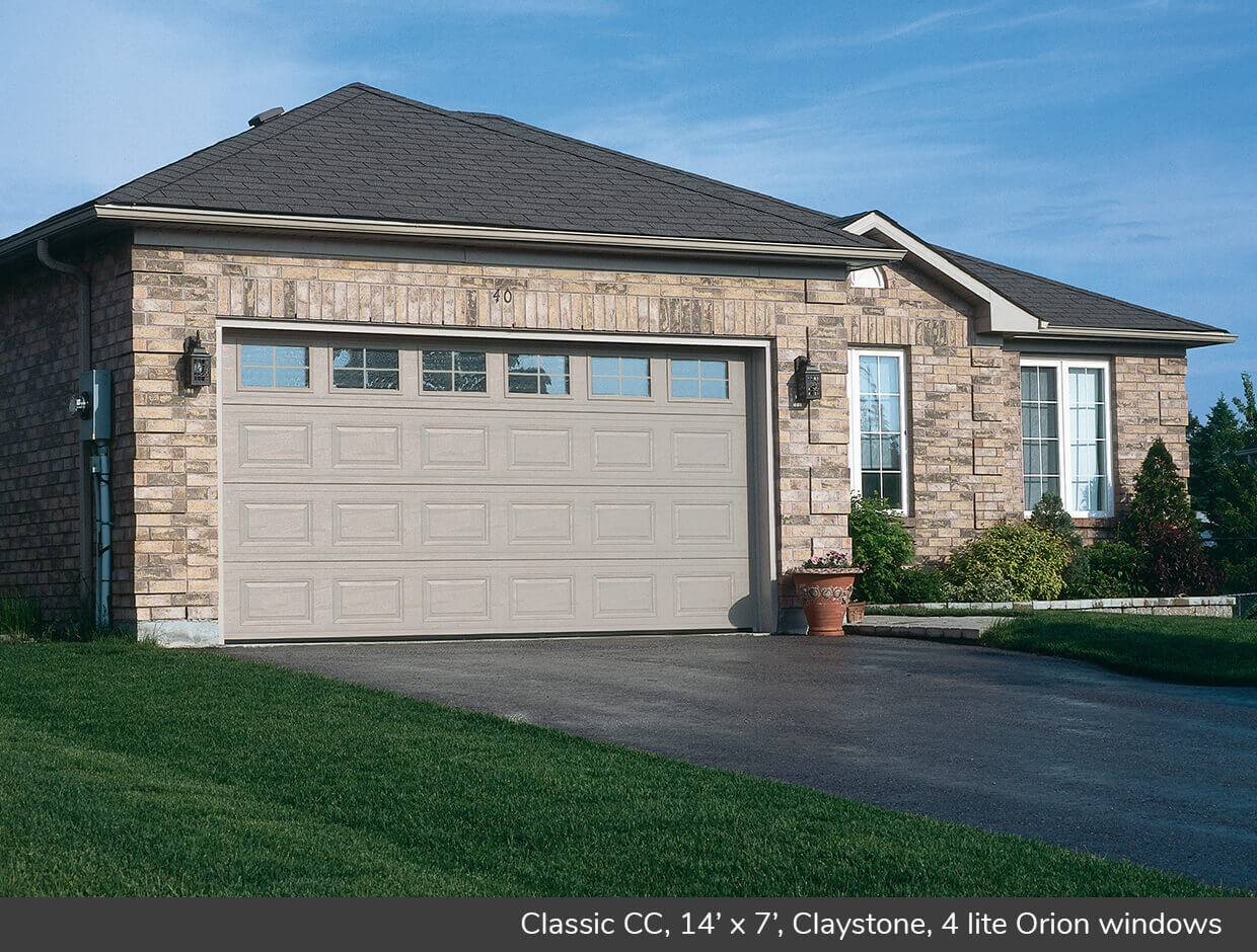 Classic CC, 14' x 7', Claystone, Orion 4 lite windows