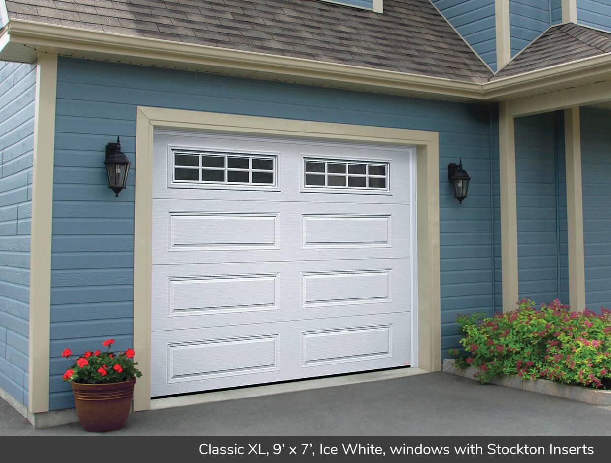 Classic XL, 9' x 7', Ice White, windows with Stockton Inserts